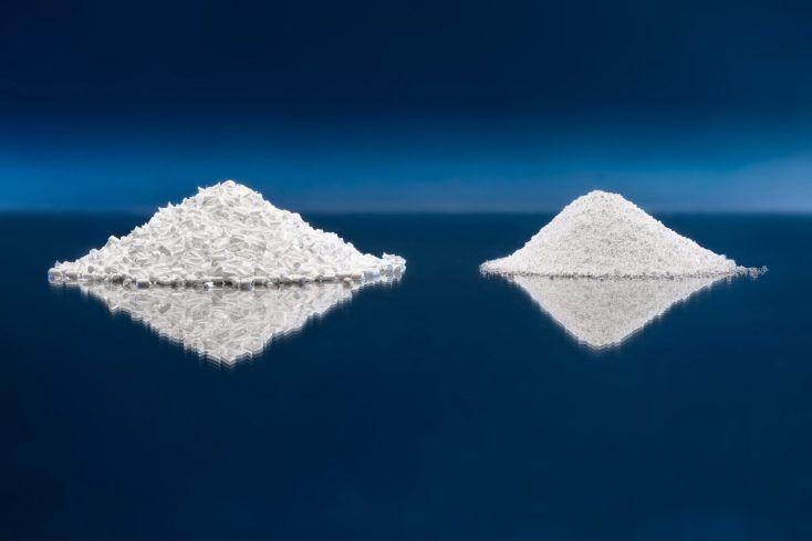 Optinova powder and pellet