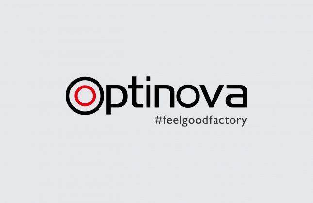 Optinova_Official logo with tagline